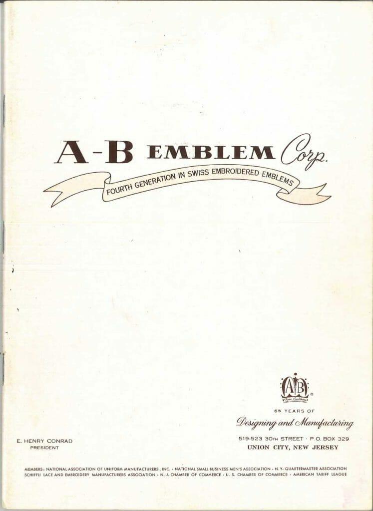 1957 Catalog Cover