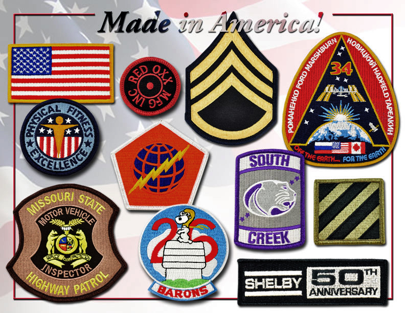 Made in America Emblems